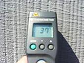 施工後被着体表面温度