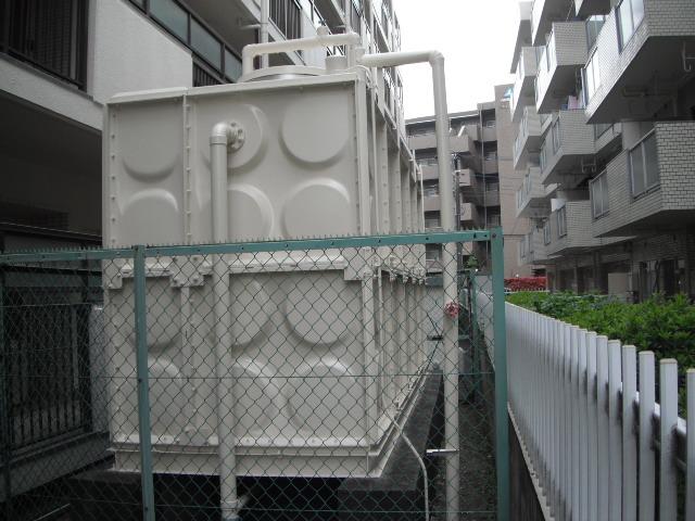 受水槽タンク塗装工事