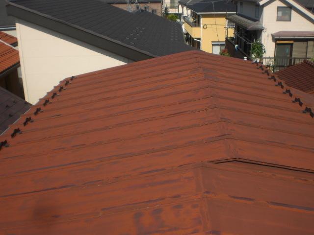 T田給某邸屋根塗装工事