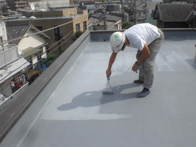 防水主材1層目塗布