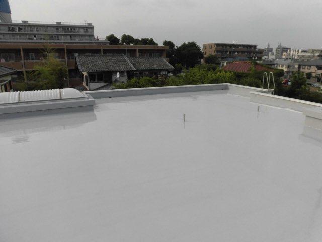 練馬区立T野台地域集会所屋上防水工事