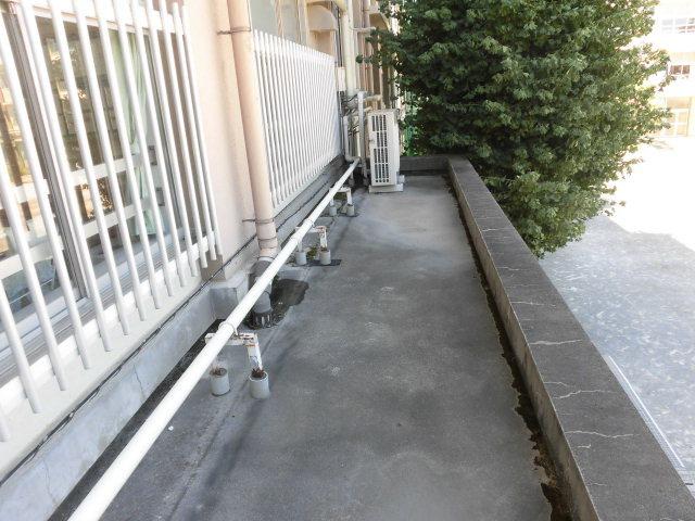 練馬区内某小学校庇防水工事
