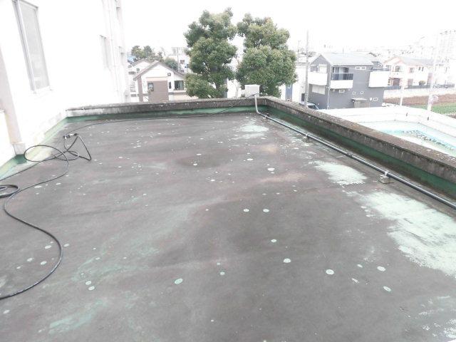 練馬区内某小学校屋根防水工事