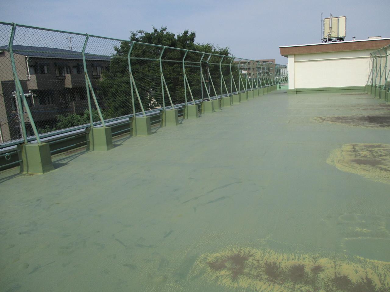練馬区内某中学校屋上防水工事