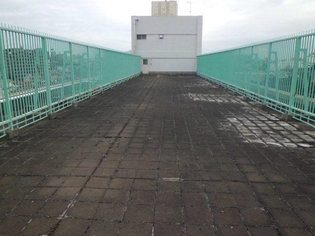 板橋区内某都営 屋上防水工事