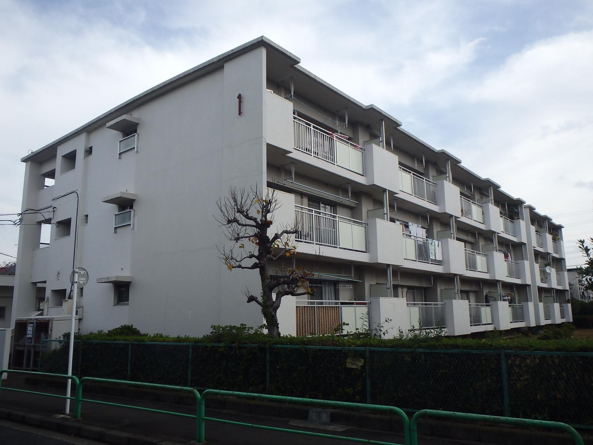 練馬区内 某都営団地外壁改修&塗装工事